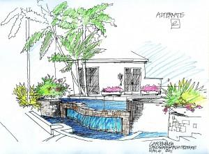 BLEU Concept sketch